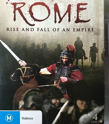 ROME - Rise And Fall Of An Empire 4 x DVD History Channel BRAND NEW!