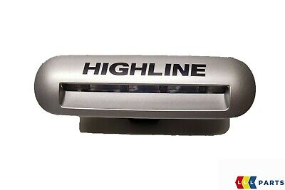 New Genuine Vw Transporter 12-16 Silver Metallic Step Light Highline Inscription