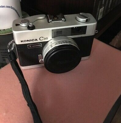 Konica C35 AUTOMATIC + FLASH  VINTAGE