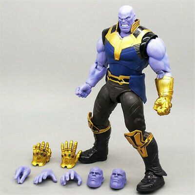 "The Avengers Marvel Legends 6"" Thanos Action Figure Toys With Face Fist Gloves"