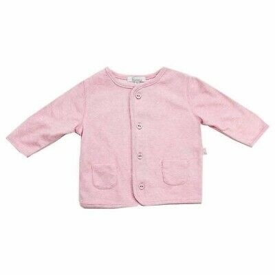 Baby Jacket by Plum Precious Clothes Lightweight Breathable Cotton Pink Coat New