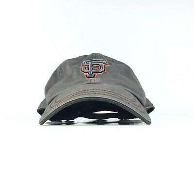 a09bc580 MLB San Francisco Giants Twins Enterprise Brand Gray Baseball Cap Hat Adj.  Men's