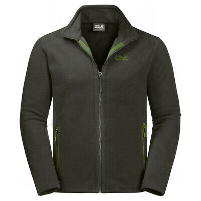 new arrival a026a 6c62f JACK WOLFSKIN MIDNIGHT Moon Men Giacca Funzionale in Pile Outdoor