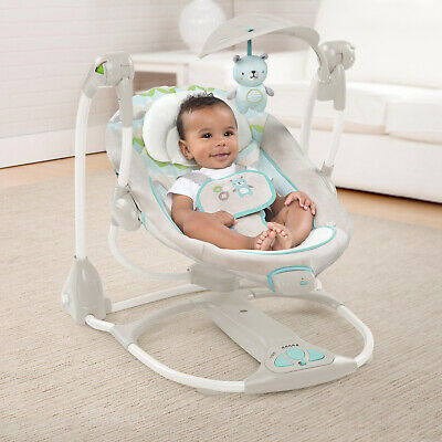 Baby Gear Ingenuity ConvertMe Swing-2-Seat Portable Soothing Swing - Hamilton