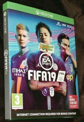 FIFA 19 Football XBOX ONE XB1 NEW SEALED Free UK p&p Pal