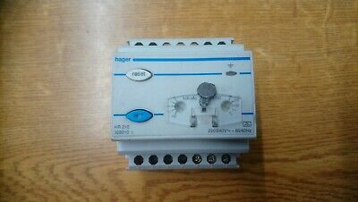 Hager HR210 328210 Residual Current Device Protection Relay