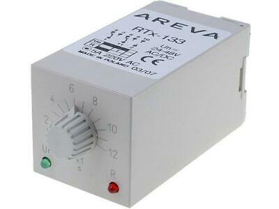 RTX133-24-12S Timer 112s DPDT 230VAC/5A 2448VAC 2448VDC undecal SCHNEIDERS
