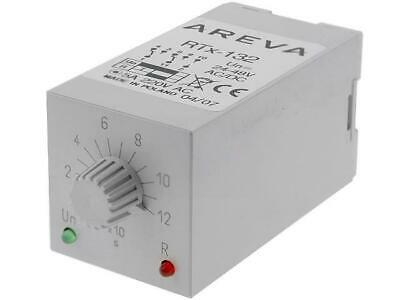 RTX132-24-120S Timer 10120s DPDT 230VAC/5A 2448VAC 2448VDC SCHNEIDERS