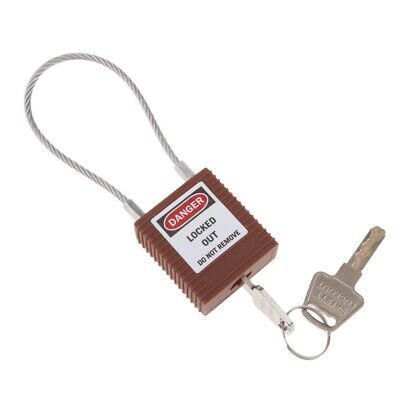 Safety Padlock Keyed Different for Lockout/Tagout