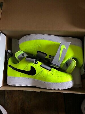 Nike Air Force 1 Low Utility Volt Yellow Men's Shoes Size 11 OG All