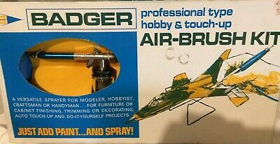 Badger Airbrush Model 200 Vintage Set - NEW old stock!