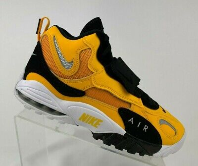 ec291c8802 Nike Air Max Speed Turf Steelers Yellow White Black Sneakers BV1165-700