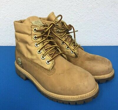 2b0de131 NWB PRESCHOOL TIMBERLAND Asphalt Trail Tall Lace Up Wheat Boots ...