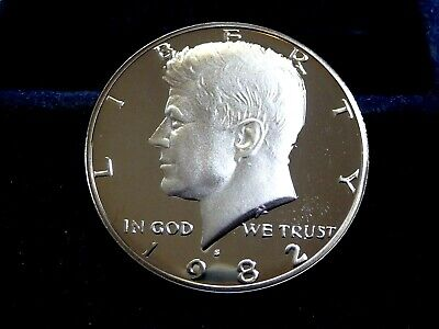 1982-S Kennedy Proof+++ Half Dollar From Us Mint  D-30-19