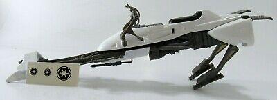 Star Wars Legacy AT-AT Hoth White Speeder Bike With Back Flaps And Stickers