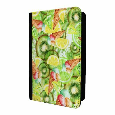 Passport Holder Case Cover Fruit Salad Collage Pattern - S228