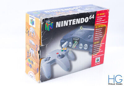 Official N64 Nintendo 64 Retro Game Console /  Box Only / 2