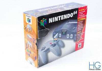 Official N64 Nintendo 64 Retro Game Console /  Box Only / 3