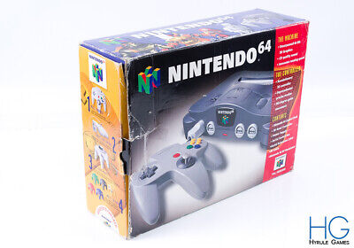Official N64 Nintendo 64 Retro Game Console /  Box Only / 4