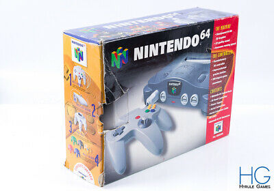 Official N64 Nintendo 64 Retro Game Console /  Box Only / 5