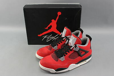 ed67311d869 2013 Nike 308497-603 Air Jordan Retro 4 Toro Bravo Red Size 9.5 Jumpman  Shoes