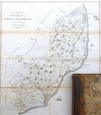Kent, 1797 - Dover, Deal & Walmer  - Hasted.