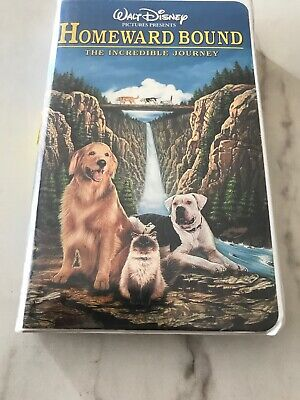 Homeward Bound: The Incredible Journey (VHS, 1998, Clam Shell)