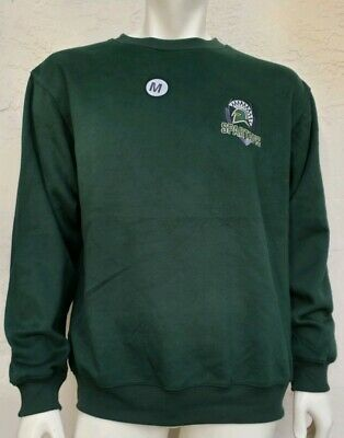 MSU Michigan State Univ SPARTANS EMBROIDERED Sweatshirt NEW   ...  MEDIUM