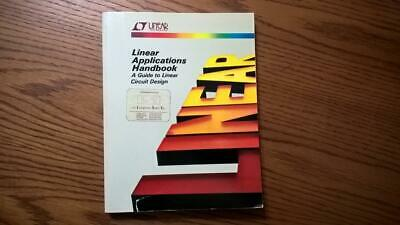 1987 LINEAR APPLICATIONS HANDBOOK - A Guide to Linear Circuit Design