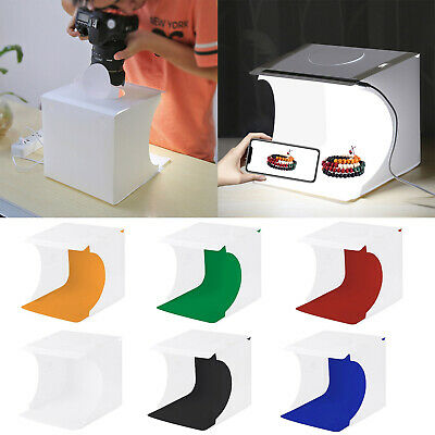 Mini Box Light Room Photo Studio Photography Lighting Tent Kit Backdrop Cube ST