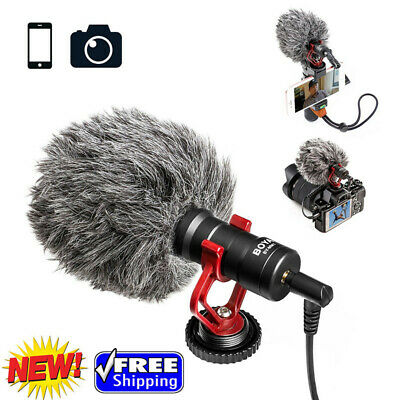 Universal Mini Cardioid Microphone Electret Condensor Mic for cellphone Camera