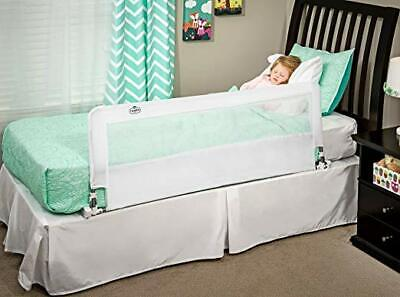 Regalo Hideaway 54-Inch Extra Long Bed Rail Guard,with Reinforced Anchor Safety