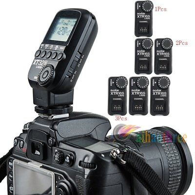 Godox XT32N 2.4G Wireless Flash Trigger Power Control +XTR-16S Receiver Fr Nikon