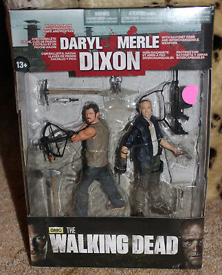 AMC The Walking Dead Daryl and Merle Dixon Action Figure