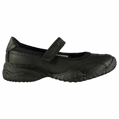 Skechers Pout Shoes Childs Girls Black Kids Footwwear