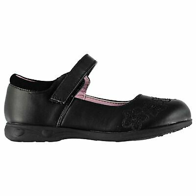 Miss Fiori Shelly Em Shoes Childs Girls Black Kids Footwwear