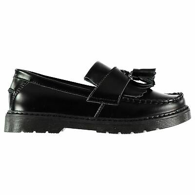 Kangol Upton Shoes Childs Girls Black Box Kids Footwwear
