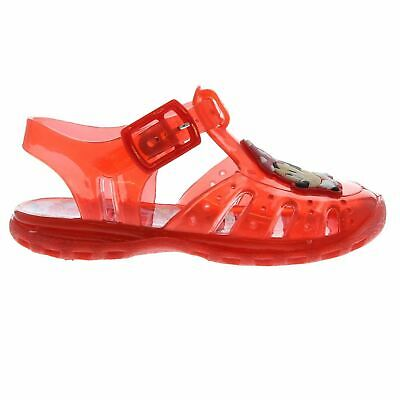 Minnie Mouse Water Jelly Sandals Infants Girls Red Flip Flop Thongs Beach Shoes