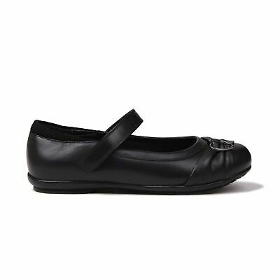 Kangol Loreto Shoes Childs Girls Black Kids Footwwear