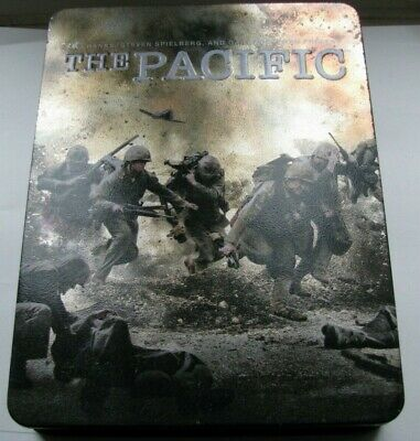 The Pacific DVD (US Region 1) Complete HBO Series steel box