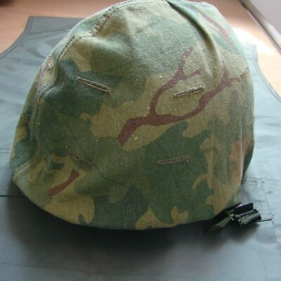 Vietnam War Us M1 Mitchell Reversible Helmet Cover Military Repro
