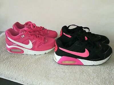 DESIGNER JOBLOT NIKE Air Max Trainers X2 Good Cond Size 3