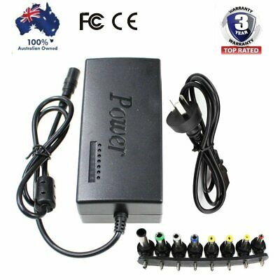 DC 12-24V 96W Universal Adjustable Laptop Power Supply Charger Adapter Notebook