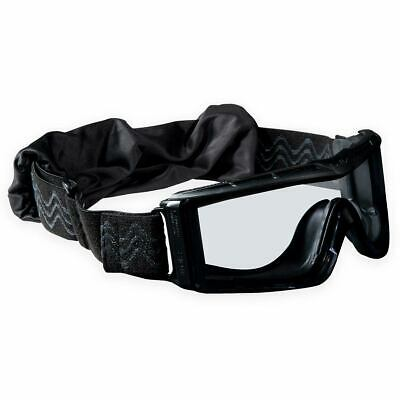 Bolle Tactical X810 Ballistic Military Safety Airsoft Goggles Black Clear Lens