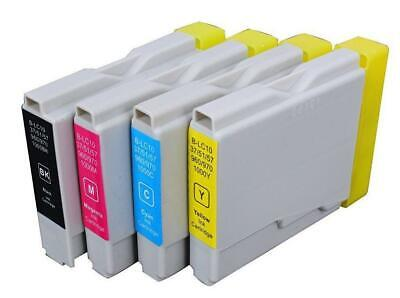 Full Set (CMYK) of  Ink Cartridges Compatible with Brother MFC260C