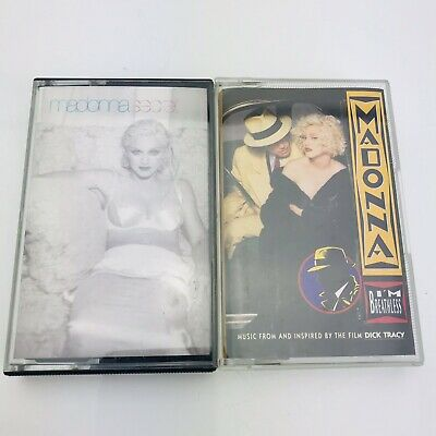 MADONNA Cassette Tapes Secret Breathless Dick Tracy Bundle