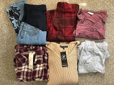 Maternity Clothes Bundle Size/small - Boohoo, George, H&M