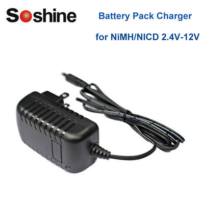 1x Universal NiMH Li-ion Battery Pack Charger Fast Smart Battery Packs 2.4V-12V