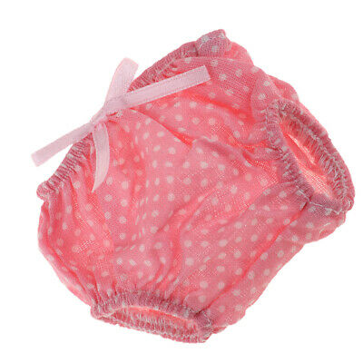 Baby Girl Doll Dotted Underpants for Mellchan Baby Doll Outfits Accessory
