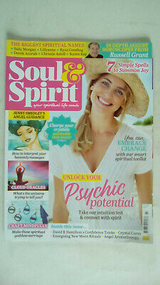 Soul and Spirit Magazine August 2018 Unlock Your Psychic Potential